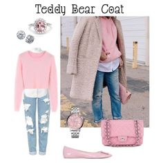 Teddy Bear Coat by kaelamorae