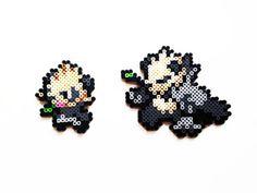 Pokemon X and Y Perler - Pancham / Pangoro Choose 1 of Full set of 2