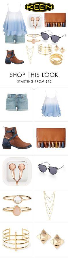 """""""Fresh and Keen"""" by pandatrix ❤ liked on Polyvore featuring Paige Denim, Keen Footwear, Rebecca Minkoff, claire's, Accessorize, BauXo, Valentino and keen"""