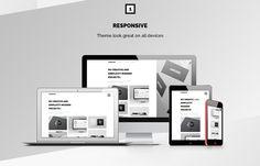 Thompson HTML 5 Portfolio Template – #freebies #html5 #webdesign