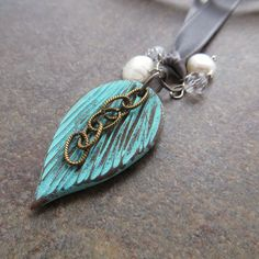 Polymer Clay Bookmark by Sandra DeYoung Niese.