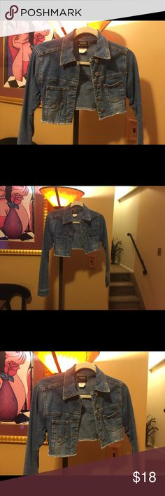 Stylish Bolero Jean Jacket This is a cute addition to any closet. nissi Jackets & Coats Jean Jackets