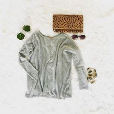 Soft new layering sweaters that look chic, feel heavenly....available 01/24 in 3 scrumptious colors.