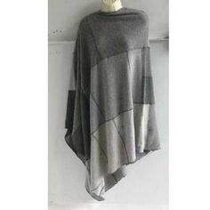 upcycle recycle cashmere sweaters into a poncho!  gotta try this!!