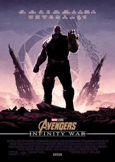 This Awesome Series of AVENGERS: INFINITY WAR Poster Art Comes From Artist Matt Ferguson