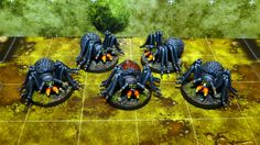 Cave Spiders