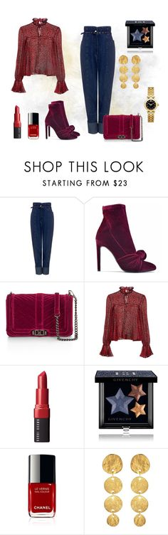 """""""Unbenannt #294"""" by arts22 ❤ liked on Polyvore featuring Rachel Comey, Giuseppe Zanotti, Saloni, Bobbi Brown Cosmetics, Givenchy, Kenneth Jay Lane and Tory Burch"""