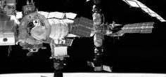 This panorama of the International Space Station was composed by piecing together images taken by Raven's Visible Camera. These images were processed by a hybrid computing platform, SpaceCube 2.0.