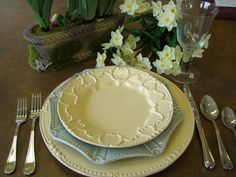A Skyros Designs Springtime Tablesetting Inspiration by Westside Studio in Hattiesburg, MS.