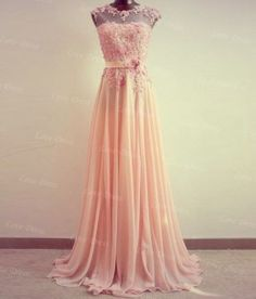 Cheap Sweetheart Chiffon FloorLength Lace by LovePromDress on Etsy, $188.00