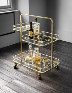 Are you interested in our Bar trolley? With our Contemporary bar trolley you need look no further. Bar Trolley, Drinks Trolley, Bar Carts, Trolley Dolly, Ikea Bar Cart, Bar Cart Decor, Stirling, Halo Bar, Hostess Trolley