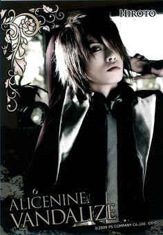 Alice Nine Guitarist -> Hiroto
