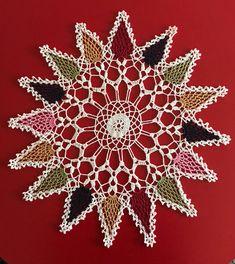 crochet tablecloth