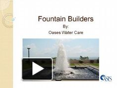 Oases Water Care is the best fountain dealers for fountain manufacturers, swimming pool construction, dry fountain manufacturers, fabricated pool dealers, glass water fountain dealers etc.  Visit: http://oaseswatercare.com/