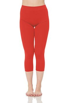 7cae34e429827b JP Womens Capri Leggings Coral * You can find more details by visiting the  image link