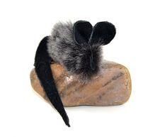 Cat Toy Mini Mouse Real Sheepskin with Catnip - by Primal Kitty