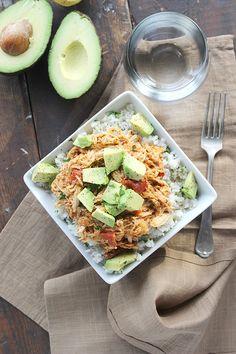 Crockpot Shredded Mexican Chicken! - soooo simple and yummy!!
