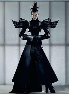 Striking Samurai Photoshoots - The Honor Interview Magazine Editorial Marries Femininity and Power (GALLERY)