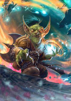 #wowtcg #warcraft #gobelin #goblin #chaman #shaman