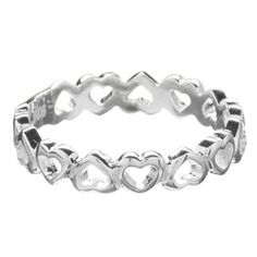 Sterling Silver Hearts Ring, Debenhams   I WANT FOR MY WEDING DAY!!!