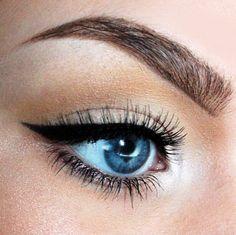 Love this simple cat eye