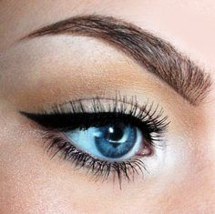Love this simple cat eye