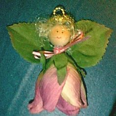 Rose Angel Ornament Instructions