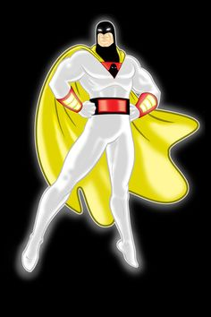 Watch Space Ghost Coast to Coast from Adult Swim Animated Cartoons, Cartoon World, Classic Cartoon Characters, Vintage Cartoon, Saturday Cartoon, 80s Cartoons, Space Ghost, Ghost, Superhero Art