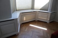 Ikea Dining Room, Window Benches, Radiator Cover, Tile Floor, House, Amsterdam, India, Goa India, Home