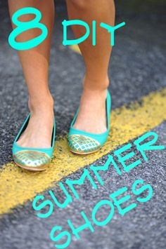 Summer Shoes DIY, Favorite 8   Southern Girly