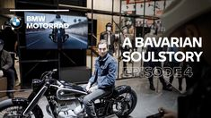 In the fourth episode of A Bavarian Soulstory, join Tommy Kerns in Milan as he visits the EICMA for the first time. Together with Edgar Heinrich, he meets Ju. Youtube, Bmw Motorrad, Youtubers, Youtube Movies