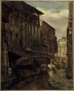 La Bièvre, rue de Valence | Paris Musées