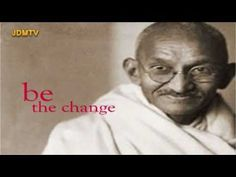 MC Yogi - Be the change that u want to see  -----------------------------------------------------------    once upon a time not long ago  there was a boy who would grow and become a great soul  he lived in India and his name was Gandhi   he believed in human rights and he fought for equality    He felt so strongly that he trained himself   he re...