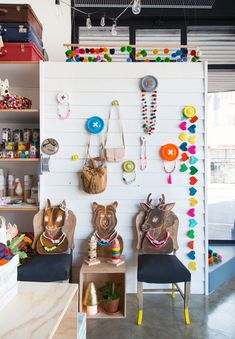 Just opened -The Woodsfolk Store - in Hawthorn. Photo - Brooke Holm for The Design Files