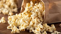 Take your popcorn up a notch with some truffle oil and parmesan