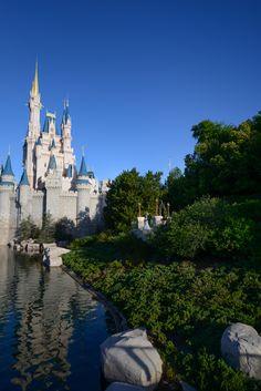 The beauty of Cinderella Castle will shine through at your Magic Kingdom portrait session. Photo: Amanda, Disney Fine Art Photography