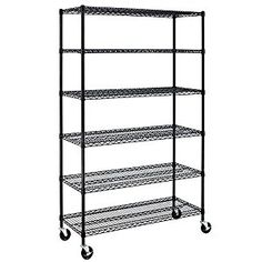 """72""""x48""""x18"""" 6-Tier Layer -used like new #Tools #HomeImprovement #Storage #Organization #Shelves"""