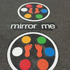 We offer a complete range of playground markings for use on any solid surface. Our playground markings are particularly useful … Preschool Playground, Playground Games, Playground Flooring, Backyard Playground, Backyard Games, School Games, School Fun, Playground Painting, Paint Games