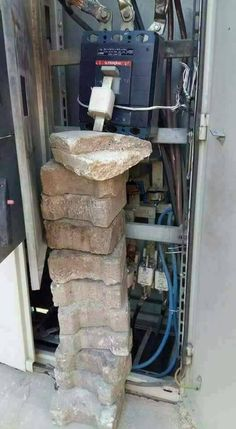 One way to keep a breaker from tripping :/