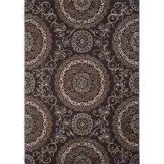 Found it at Wayfair - Tremont Brown Area Rug