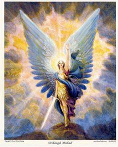 Luz y Oscuridad en mi...El Poderoso y Victorioso Arcángel Miguel.