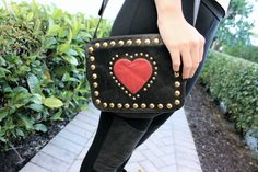 Vintage Moschino Heart Purse! <3