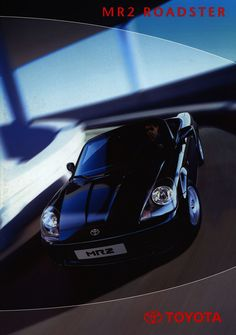 https://flic.kr/p/GxDEFZ | Toyota MR2 Roadster; 2001_1 | front cover auto car brochure | by worldtravellib World Travel library