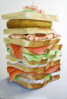 trostbrot-fisch/ consolation sandwich by creativlabor, via Flickr