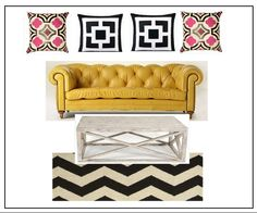 Tufted Couch Inspiration