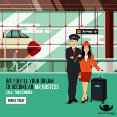 Vision Aviation Academy - We Fulfill Your Dream To Become An Air Hostess. Get Training for Airline, Airport, Hotel,Travel & Tourism With 100% JOB Placement Assistance  Call: 7090226999  #Airline #Hotel #Travel #Airport #cabincrew #FlightAttendant