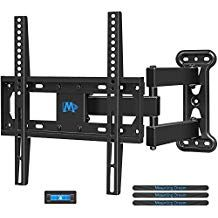 Mounting Dream Full Motion Tv Wall Mount Bracket With Perfect Center Design For 26 55 Inch Tv Wall Mount Bracket Corner Tv Wall Mount Full Motion Tv Wall Mount
