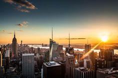 Manhattan & Sun by Jacques Szymanski on 500px