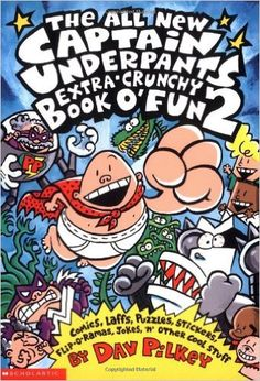 the all new captain underpants extra crunchy book o fun 2 - Captain Underpants Coloring Pages