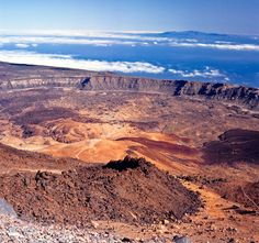 The crater of the vulcano Teide on Tenerife, Canary Islands. so looking forward to our trip there in October!